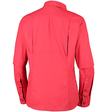Women's Silver Ridge™ 2.0 Shirt Silver Ridge™ 2.0 Long Sleeve | 550 | S, Red Coral, back