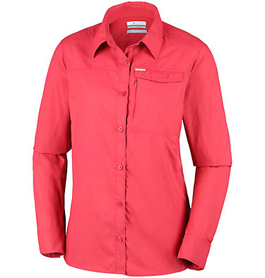 Silver Ridge™ 2.0 Langarmshirt für Damen Silver Ridge™ 2.0 Long Sleeve | 550 | S, Red Coral, front