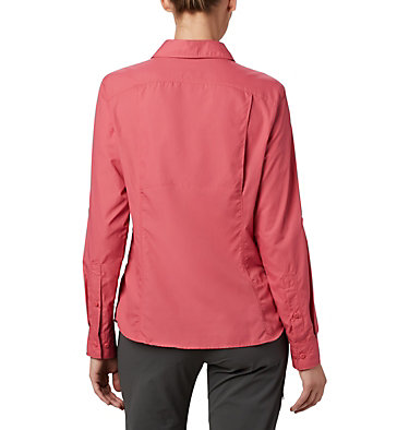 Women's Silver Ridge™ 2.0 Shirt Silver Ridge™ 2.0 Long Sleeve | 550 | S, Rouge Pink, back