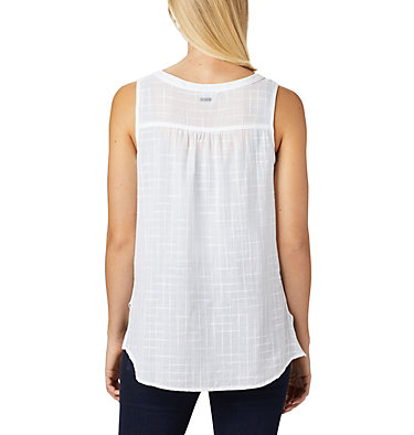 Women's Summer Ease™ Sleeveless Shirt Summer Ease™ Sleeveless Shirt | 466 | L, White, back