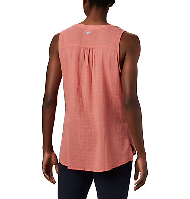 Women's Summer Ease™ Sleeveless Shirt Summer Ease™ Sleeveless Shirt | 466 | L, Dark Coral, back