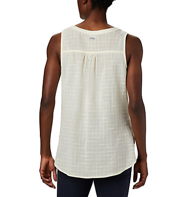 Women's Summer Ease™ Sleeveless Shirt Summer Ease™ Sleeveless Shirt | 466 | L, Pale Yellow, back