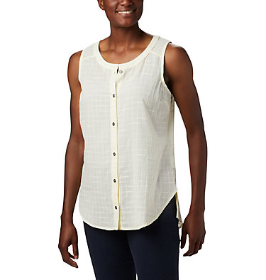 Women's Summer Ease™ Sleeveless Shirt Summer Ease™ Sleeveless Shirt | 466 | L, Pale Yellow, front