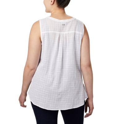 Women's Summer Ease™ Sleeveless Shirt—Plus Size   Columbia Sportswear