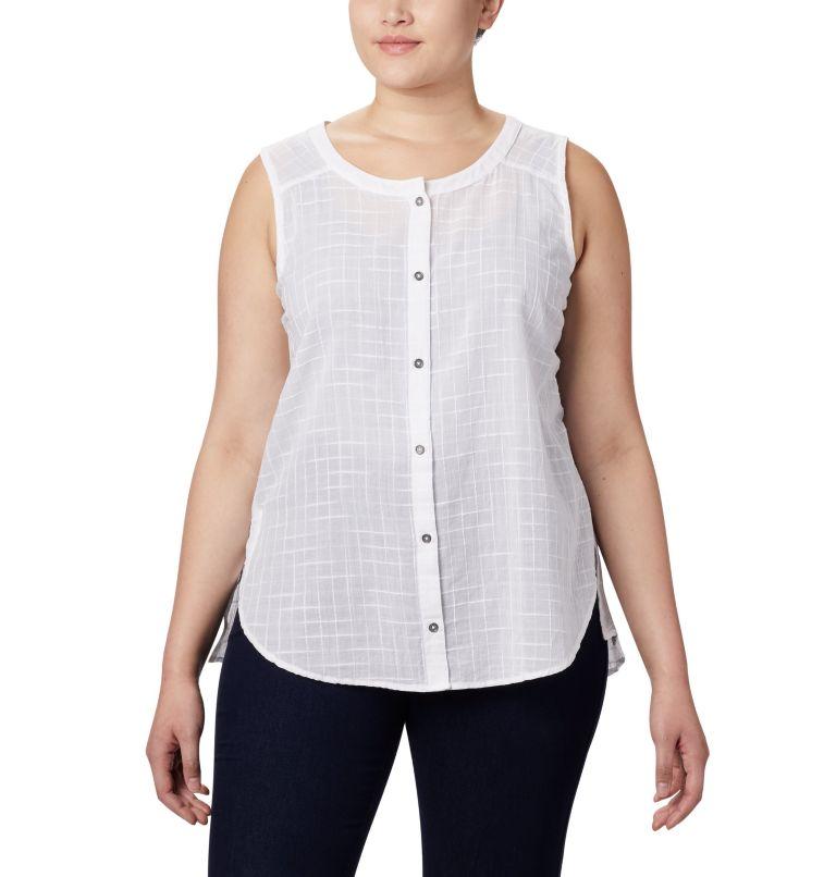 Women's Summer Ease™ Sleeveless Shirt—Plus Size Women's Summer Ease™ Sleeveless Shirt—Plus Size, front