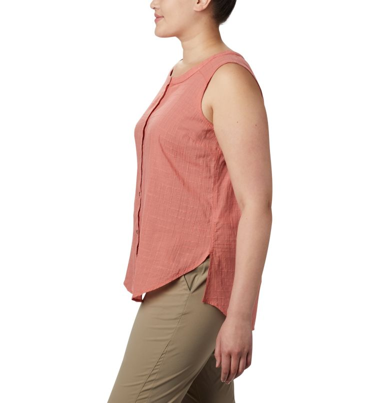 Women's Summer Ease™ Sleeveless Shirt—Plus Size Women's Summer Ease™ Sleeveless Shirt—Plus Size, a1