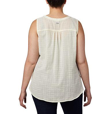 Haut sans manches Summer Ease™ pour femme — Grandes tailles Summer Ease™ Sleeveless Shirt | 639 | 1X, Pale Yellow, back