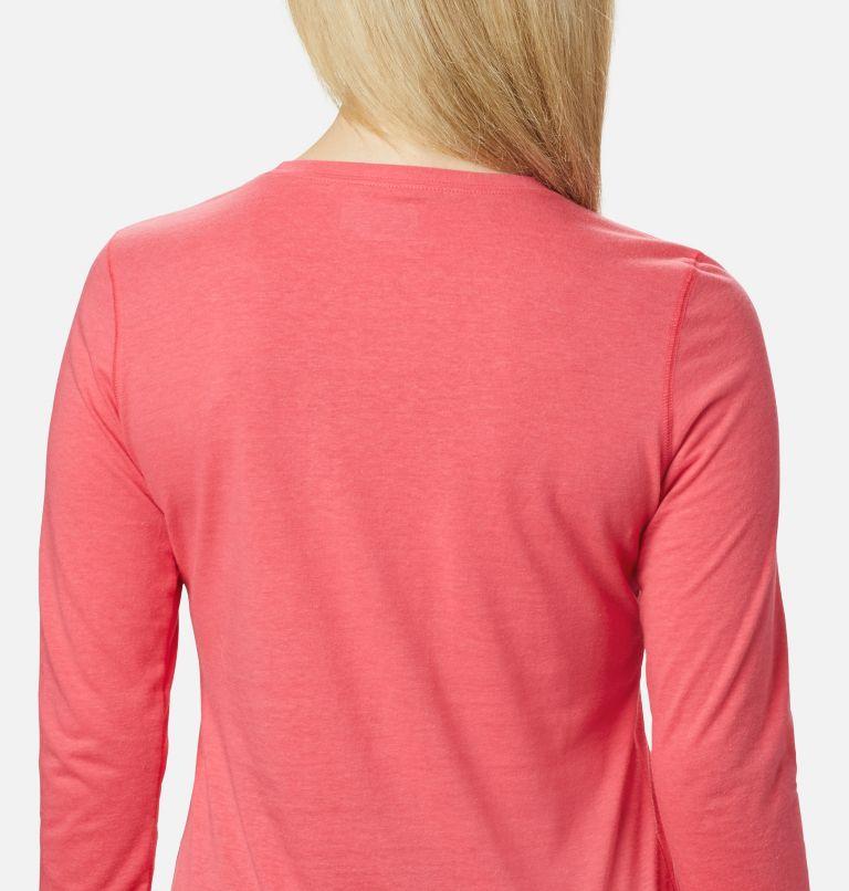 Solar Shield™ Long Sleeve | 673 | XS Women's Solar Shield™ Long Sleeve Shirt, Bright Geranium, a2