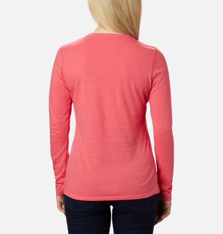 Solar Shield™ Long Sleeve | 673 | XS Women's Solar Shield™ Long Sleeve Shirt, Bright Geranium, back