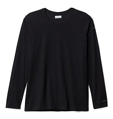 Women's Solar Shield™ Long Sleeve Shirt - Plus Size Solar Shield™ Long Sleeve | 100 | 1X, Black, front