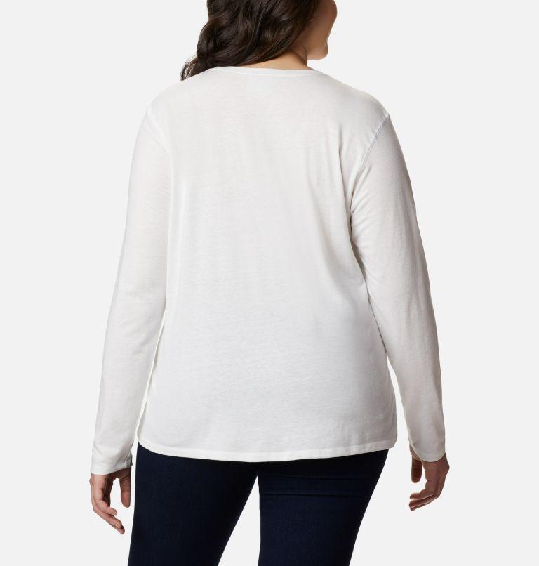 Women's Solar Shield™ Long Sleeve Shirt - Plus Size Women's Solar Shield™ Long Sleeve Shirt - Plus Size, back