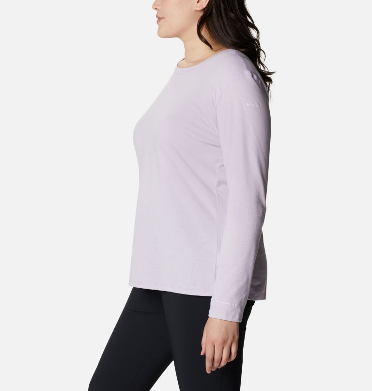 Women's Solar Shield™ Long Sleeve Shirt - Plus Size Women's Solar Shield™ Long Sleeve Shirt - Plus Size, a1