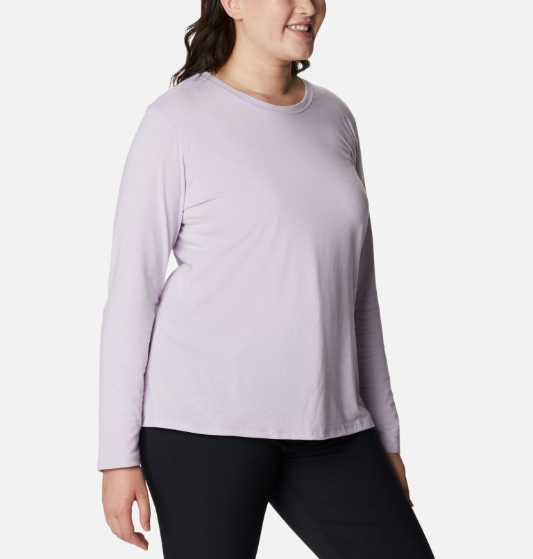 Women's Solar Shield™ Long Sleeve Shirt - Plus Size Women's Solar Shield™ Long Sleeve Shirt - Plus Size, a3