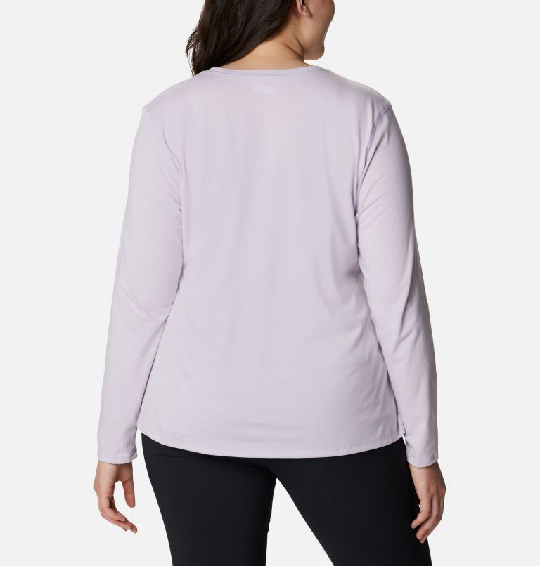 Women's Solar Shield™ Long Sleeve Shirt - Plus Size Women's Solar Shield™ Long Sleeve Shirt - Plus Size, back