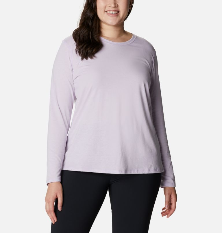 Women's Solar Shield™ Long Sleeve Shirt - Plus Size Women's Solar Shield™ Long Sleeve Shirt - Plus Size, front