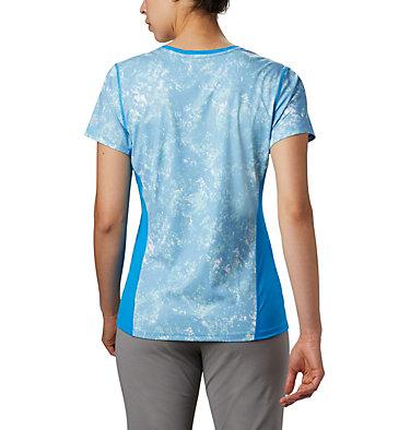 Haut à manches courtes Solar Chill™ 2.0 pour femme Solar Chill™ 2.0 Short Sleeve | 556 | L, Static Blue Print, back