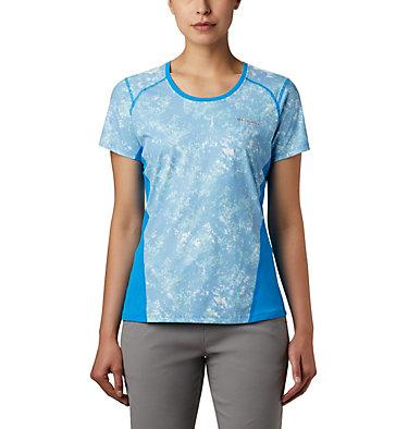 Haut à manches courtes Solar Chill™ 2.0 pour femme Solar Chill™ 2.0 Short Sleeve | 556 | L, Static Blue Print, front