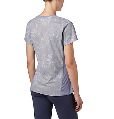 Haut à manches courtes Solar Chill™ 2.0 pour femme Solar Chill™ 2.0 Short Sleeve | 556 | L, New Moon Print, back