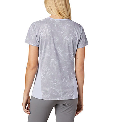 Women's Solar Chill™ 2.0 Short Sleeve Solar Chill™ 2.0 Short Sleeve | 580 | XS, Twilight Print, back