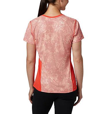 Haut à manches courtes Solar Chill™ 2.0 pour femme Solar Chill™ 2.0 Short Sleeve | 556 | L, Bright Poppy Print, back