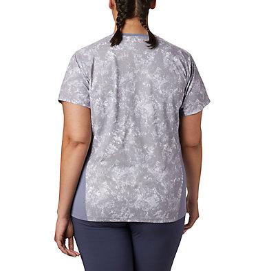 Women's Solar Chill™ 2.0 Short Sleeve Shirt—Plus Size Solar Chill™ 2.0 Short Sleeve | 556 | 1X, New Moon Print, back