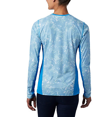 Haut à manches longues Solar Chill™ 2.0 pour femme Solar Chill™ 2.0 Long Sleeve | 556 | L, Static Blue Print, back