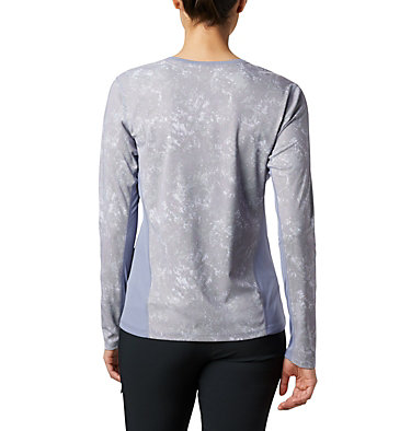 Haut à manches longues Solar Chill™ 2.0 pour femme Solar Chill™ 2.0 Long Sleeve | 556 | L, New Moon Print, back