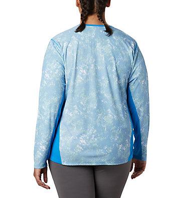 Haut à manches longues Solar Chill™ 2.0 pour femme – Grande taille Solar Chill™ 2.0 Long Sleeve | 556 | 2X, Static Blue Print, back