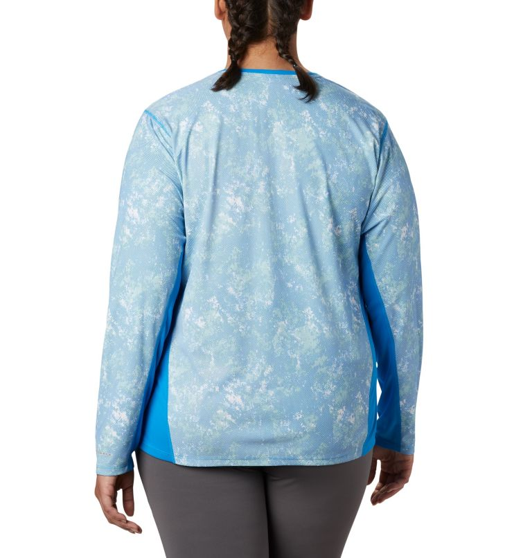 Women's Solar Chill™ 2.0 Long Sleeve—Plus Size Women's Solar Chill™ 2.0 Long Sleeve—Plus Size, back