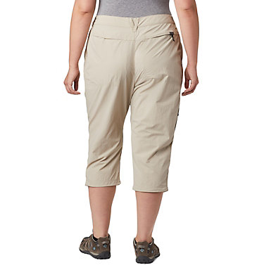 Women's Silver Ridge™ 2.0 Capri—Plus Size Silver Ridge™ 2.0 Capri | 160 | 16W, Fossil, back
