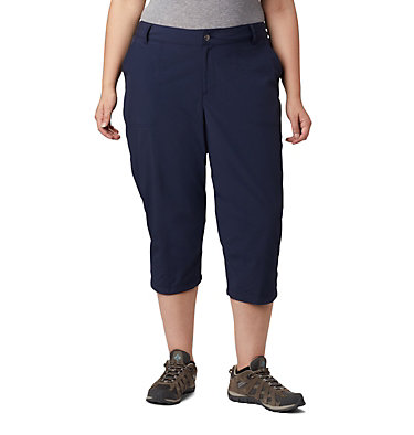 Women's Silver Ridge™ 2.0 Capri—Plus Size Silver Ridge™ 2.0 Capri | 472 | 18W, Dark Nocturnal, front