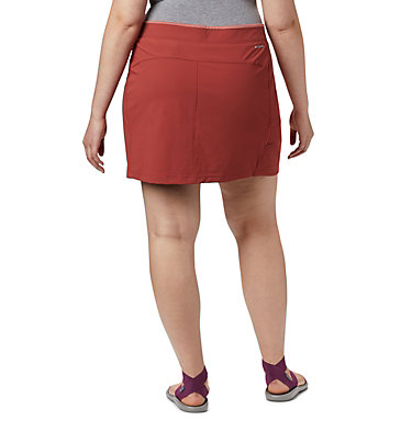 Women's Bryce Peak™ Skort—Plus Size Bryce Peak™ Skort | 340 | 18W, Dusty Crimson, back
