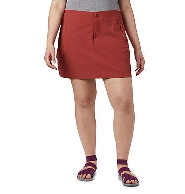 Women's Bryce Peak™ Skort—Plus Size Bryce Peak™ Skort | 340 | 18W, Dusty Crimson, front