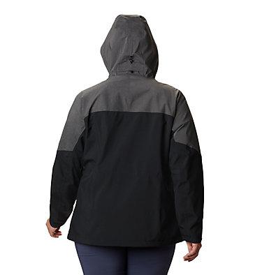 Women's Evolution Valley™ II Jacket - Plus Size Evolution Valley™ II Jacket | 031 | 1X, Black, Charcoal Heather, back