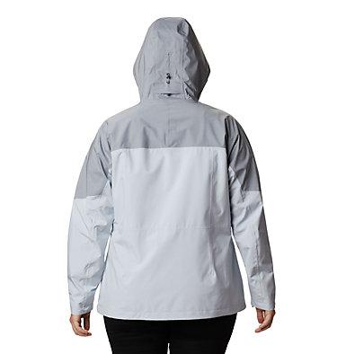 Women's Evolution Valley™ II Jacket - Plus Size Evolution Valley™ II Jacket | 031 | 1X, Cirrus Grey, Tradewinds Grey Heather, back