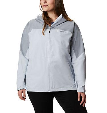 Women's Evolution Valley™ II Jacket - Plus Size Evolution Valley™ II Jacket | 031 | 1X, Cirrus Grey, Tradewinds Grey Heather, front