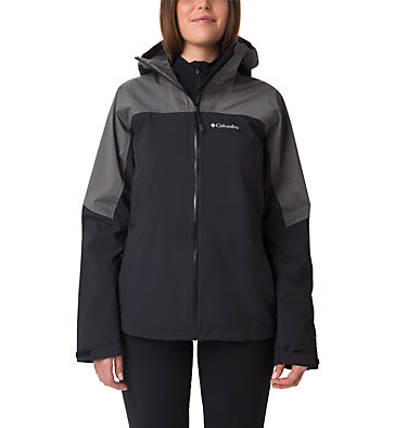 Veste Evolution Valley™ II Femme Evolution Valley™ II Jacket | 010 | L, Black, Charcoal Heather, front