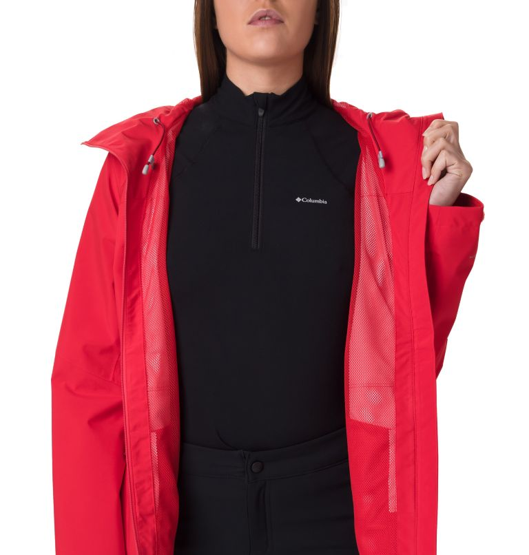 Evolution Valley™ II Jacket | 658 | L Giacca Evolution Valley™ II da donna, Red Lily, a2