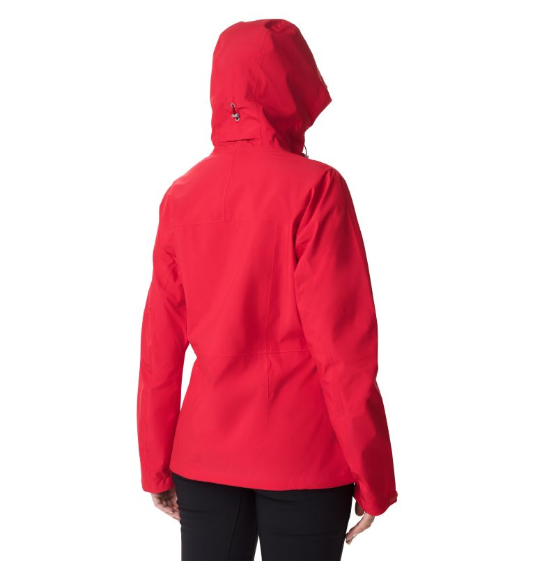 Evolution Valley™ II Jacket | 658 | M Giacca Evolution Valley™ II da donna, Red Lily, back