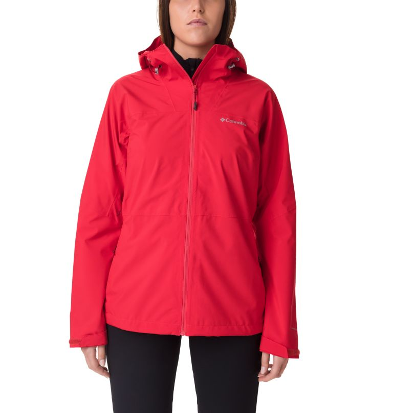Evolution Valley™ II Jacket | 658 | M Giacca Evolution Valley™ II da donna, Red Lily, front