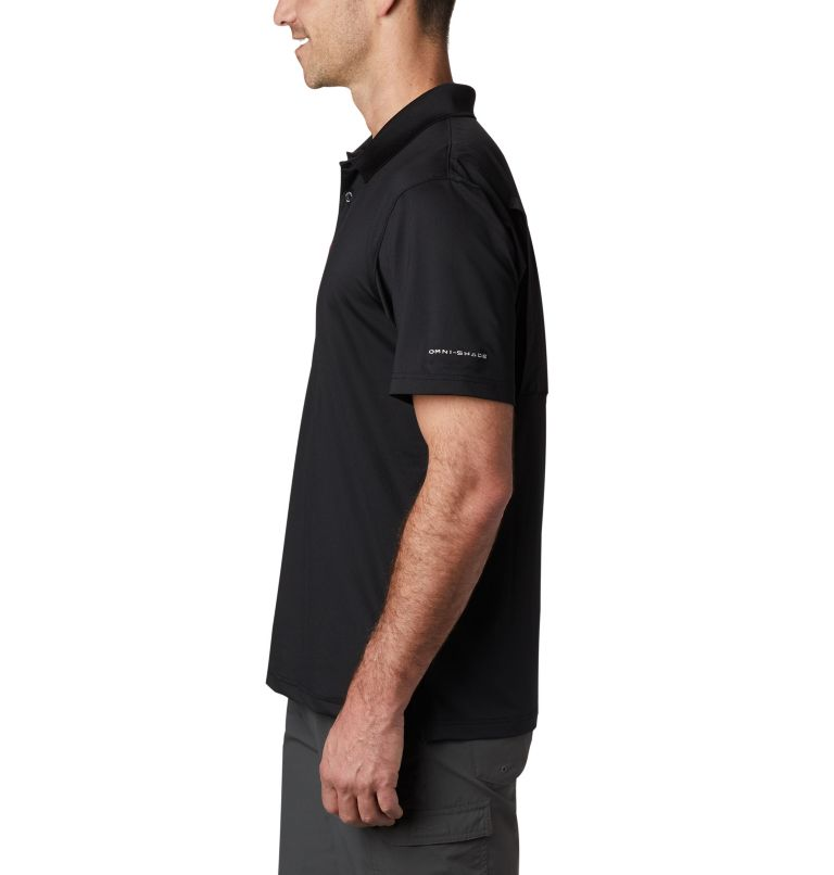 CLG Skiff Cast™ Polo | 099 | XL Men's Collegiate Skiff Cast™ Polo - Texas A&M, TAM - Black, a1