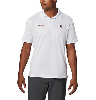 Men's Collegiate Skiff Cast™ Polo - Alabama CLG Skiff Cast™ Polo | 678 | M, ALA - White, front