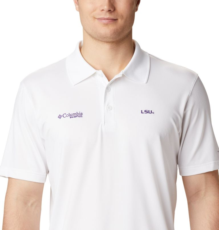 Men's Collegiate Skiff Cast™ Polo - LSU Men's Collegiate Skiff Cast™ Polo - LSU, a2