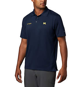 Men's Collegiate Skiff Cast™ Polo - Michigan