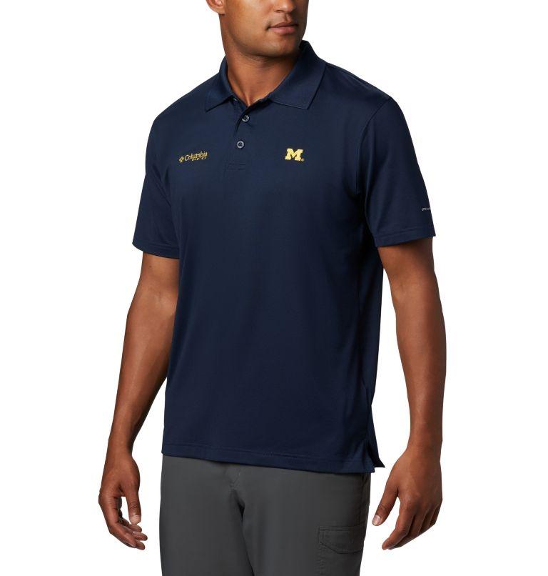 CLG Skiff Cast™ Polo | 426 | S Men's Collegiate Skiff Cast™ Polo - Michigan, UM - Collegiate Navy, front