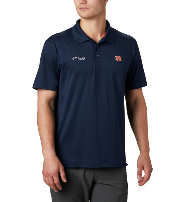 Men's Collegiate Skiff Cast™ Polo - Auburn Men's Collegiate Skiff Cast™ Polo - Auburn, front