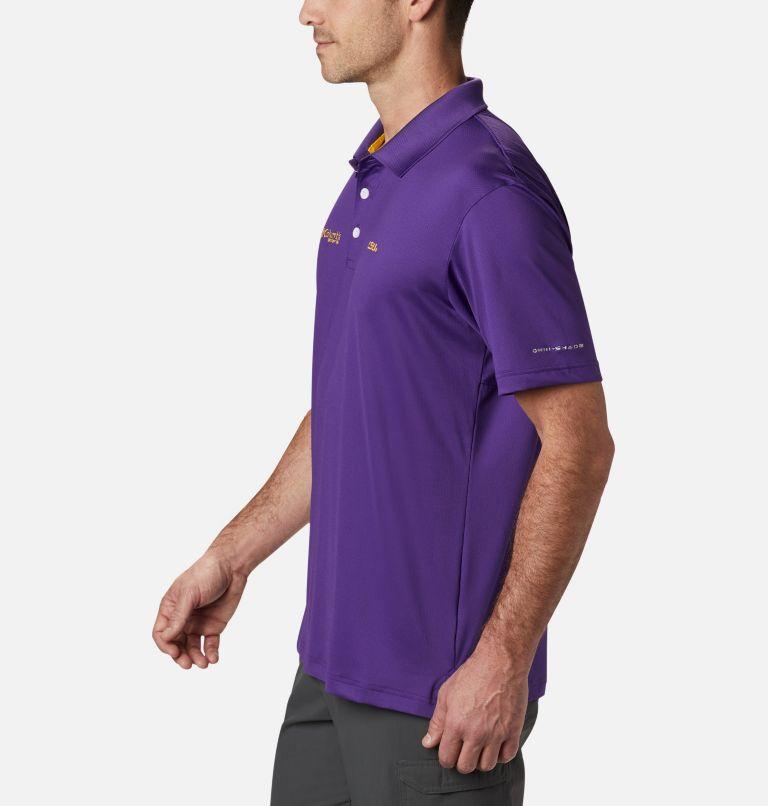 CLG Skiff Cast™ Polo | 517 | XL Men's Collegiate Skiff Cast™ Polo - LSU, LSU - Vivid Purple, a1