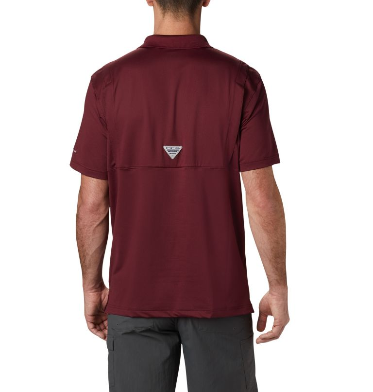 Men's Collegiate Skiff Cast™ Polo - Texas A&M Men's Collegiate Skiff Cast™ Polo - Texas A&M, back