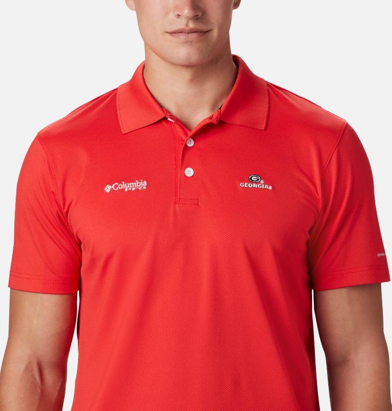 CLG Skiff Cast™ Polo | 692 | XL Men's Collegiate Skiff Cast™ Polo - Georgia, UGA - Bright Red, a1