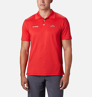 Men's Collegiate Skiff Cast™ Polo - Georgia CLG Skiff Cast™ Polo | 772 | M, UGA - Bright Red, front